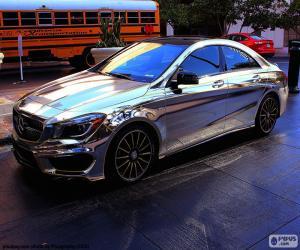 Puzle Mercedes cromo