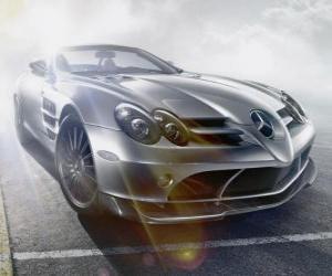 Puzle Mercedes SLR 772 Cabrio