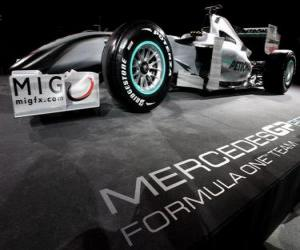 Puzle Mercedes W01