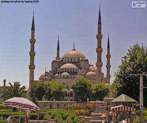 Puzle Mesquita Azul, Turquia