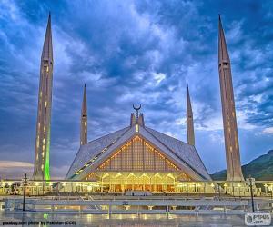 Puzle Mesquita Faisal, Paquistão