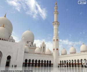 Puzle Mesquita Sheikh Zayed, Abu Dhabi