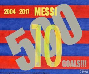 Puzle Messi 500 gols