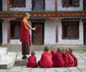 Puzle Mestre budista
