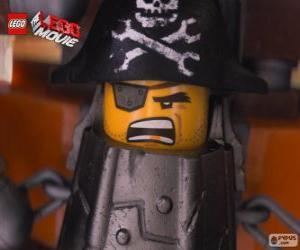 Puzle Metal Beard, um pirata que quer se vingar de Lord Business