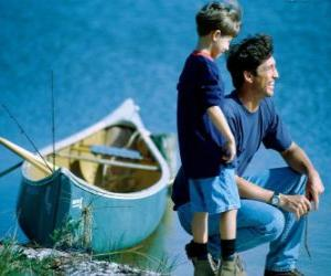 Puzle Meu pai e eu