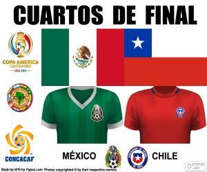 Puzle MEX - CHI, Copa América 2016