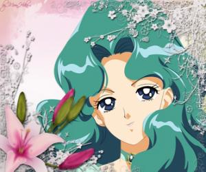 Puzle Michiru Kaioh ou Mariana Kaioh se torna Sailor Netuno ou Navegante de Neptuno