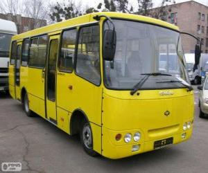 Puzle Microônibus Isuzu Bogdan A092