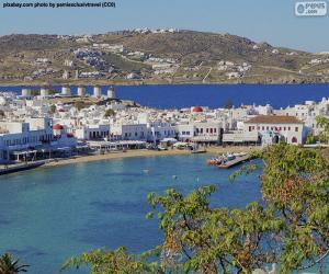 Puzle Mikonos, Grécia