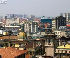 Puzle Milão, Itália