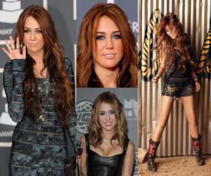 Puzle Miley Cyrus cantora pop
