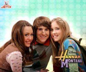 Puzle Miley Stewart e seus amigos