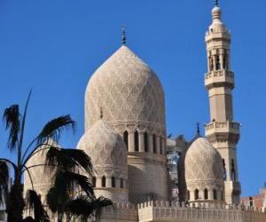 Puzle Minaretes, as torres da mesquita