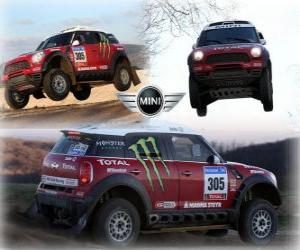 Puzle Mini All4 Racing Dakar 2011