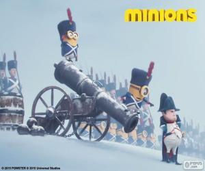 Puzle Minions e Napoleão