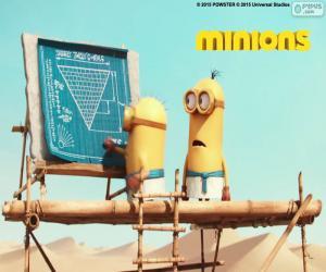 Puzle Minions no Egito