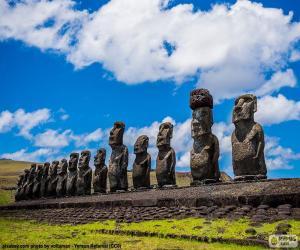 Puzle Moais Rapa Nui