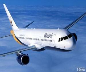 Puzle Monarch Airlines, companhia aérea britânica