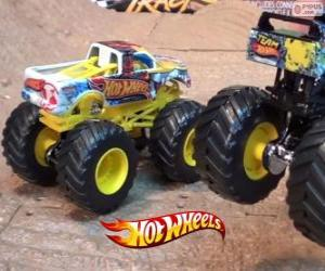 Puzle Monster Jam de Hot Wheels
