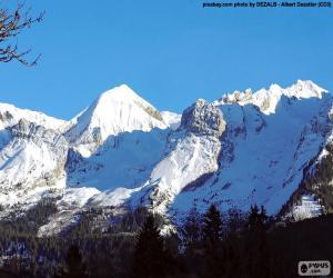 Puzle Monte Branco