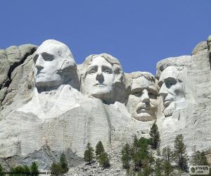 Puzle Monte Rushmore, Estados Unidos
