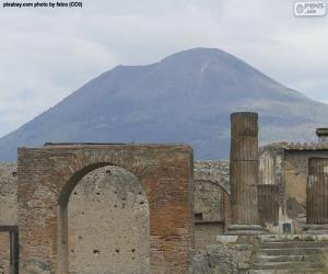 Puzle Monte Vesúvio
