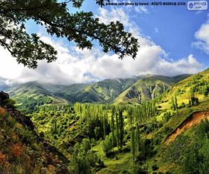 Puzle Montes Kaçkar, Turquia