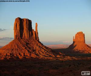 Puzle Monument Valley, Estados Unidos