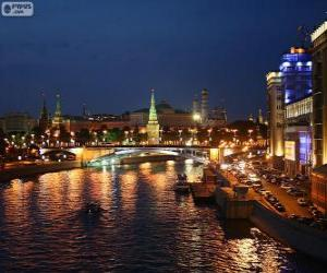 Puzle Moscovo ou Moscou, Rússia