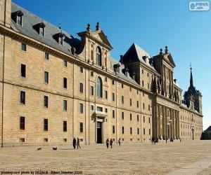 Puzle Mosteiro do Escorial, Espanha