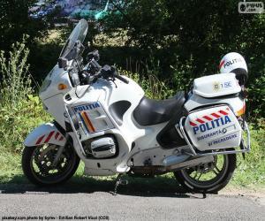 Puzle Moto de Polícia, Roménia