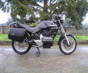 Puzle Moto estrada