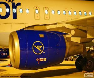 Puzle Motor de avião