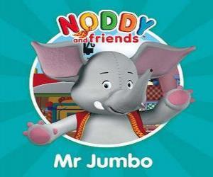 Puzle Mr. o elefante Jumbo
