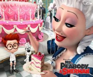 Puzle Mr. Peabody e Sherman na França