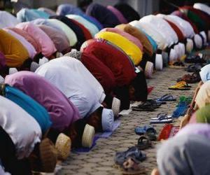 Puzle Muçulmanos na oração