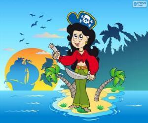 Puzle Mulher pirata