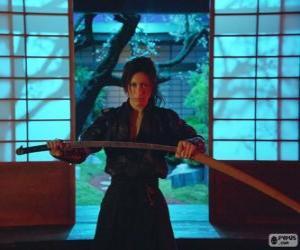 Puzle Mulher samurai