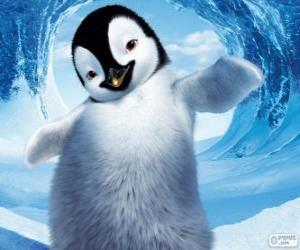 Puzle Mumble é um pinguim-imperador