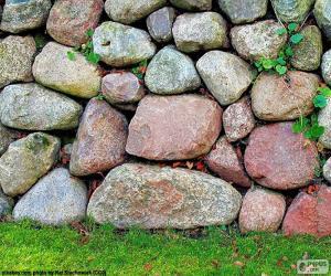 Puzle Muro de pedra de jardim
