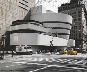 Puzle Museu Guggenheim em Nova York