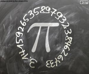 Puzle Número π (pi)