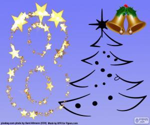 Puzle Número 8 para o Natal
