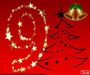Puzle Número 9 Natal