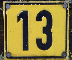 Puzle Número treze