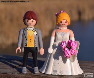 Puzle Namorados de Playmobil