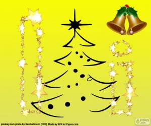 Puzle Natal e letra I