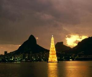 Puzle Natal no Rio