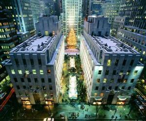 Puzle Natal no Rockefeller Center